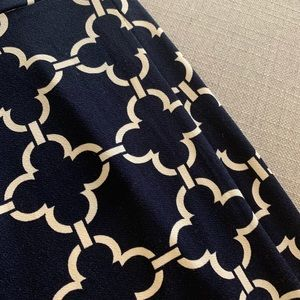 Charter Club Dresses - Charter Club Navy Blue Geo Print Dress Size 10P